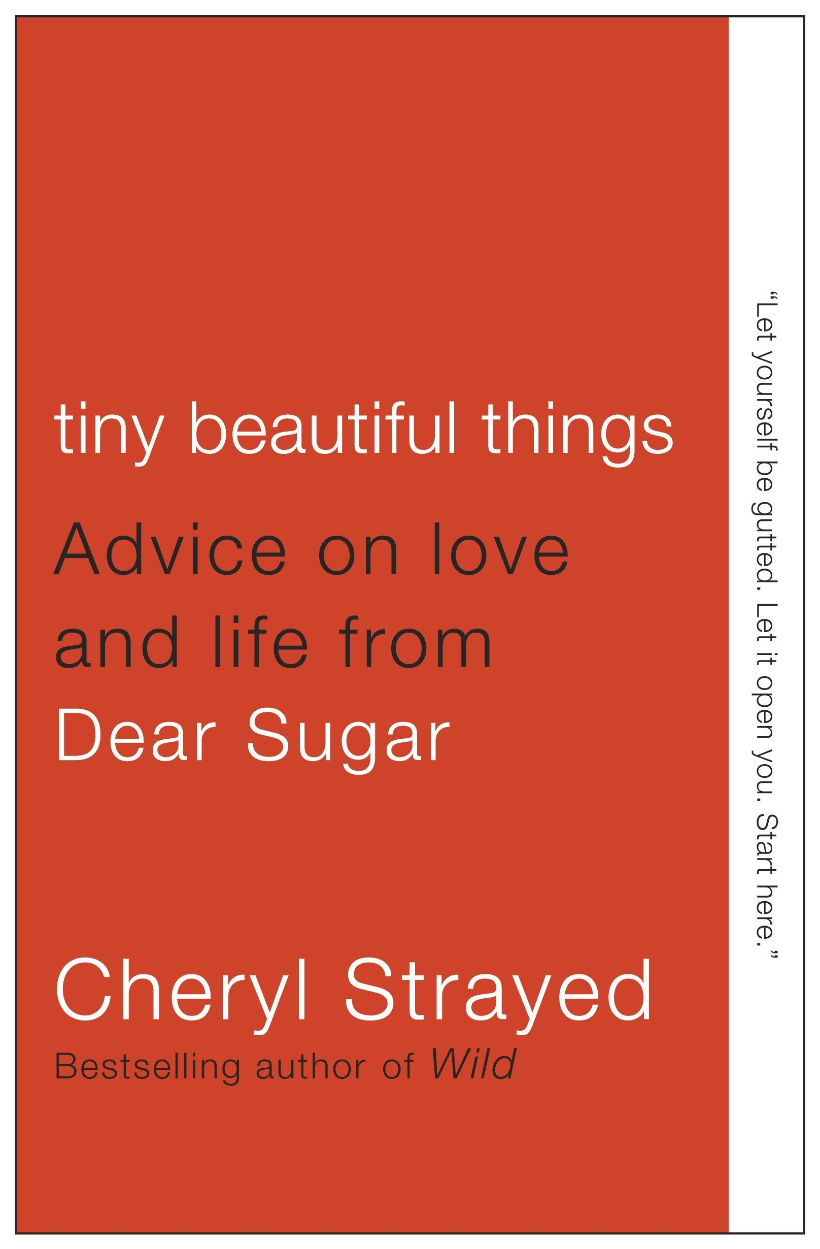 Tiny Beautiful Things, books about self-love
